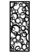 Laser Cut Bubbles Panel